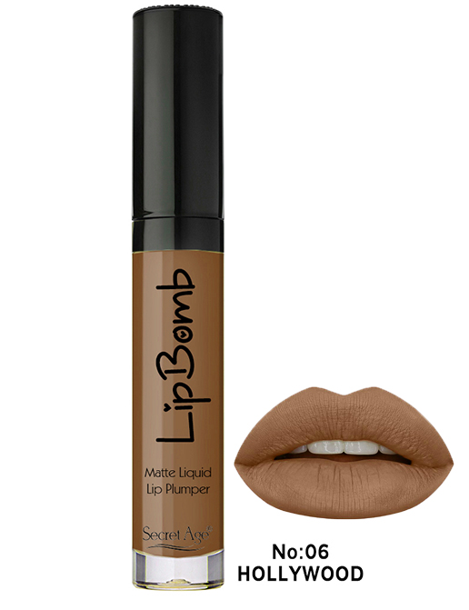 Secret Age™ LIPBOMB No: 06 Hollywood  MATTE LIPSTICK