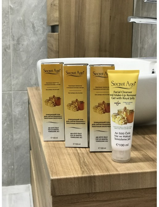 CLEANSING FACIAL GEL WITH ROYAL JELLY PROMOTION
