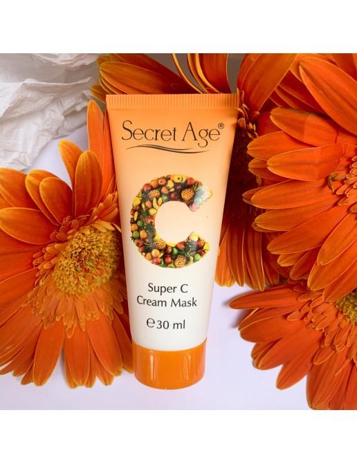 Secret Age™ SUPER C CREAM MASK (30ml)