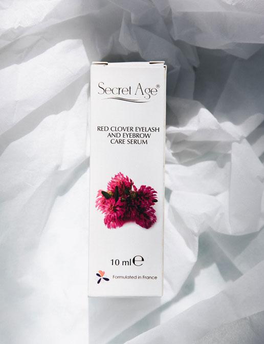 Secret Age™ Red Clover Kaş ve Kirpik Bakım Serumu (10ml)