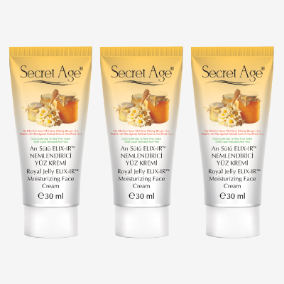 MOISTURIZER FOR SKIN CARE WITH ROYAL JELLY AND SPF FACTOR PROMOTION
