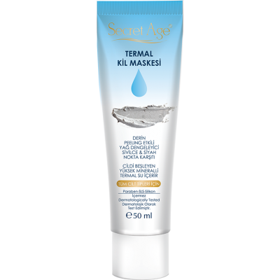 Secret Age™ THERMAL CLAY  MASK (50ml)